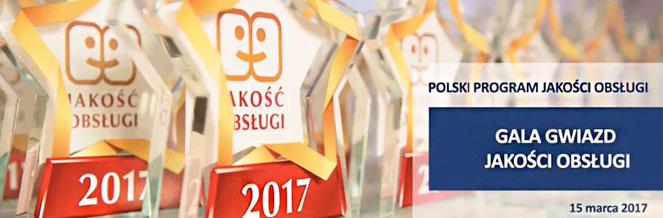 Programy lojalnościowe: Gala Jakości Obsługi 2017