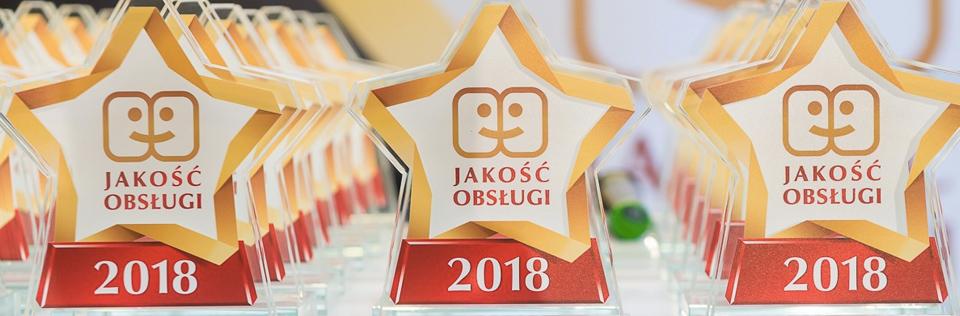 Programy lojalnościowe: Gala Jakości Obsługi 2018