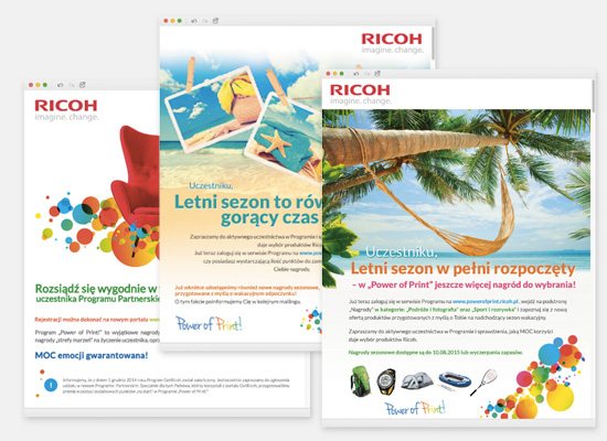 Programy lojalnościowe: Ricoh – program dla partnerów biznesowych